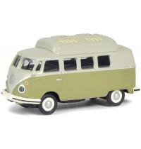 1:87 VW T1 Camper, grün-grau