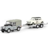 1:87 Land Rover I m. Anhänger