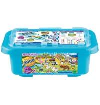 Aquabeads Mega Bastelbox Safari 3.000 Stück