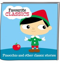 Tonies® Favourite classics -Pinocchio and other classic stories. Ab 3 Jahren.