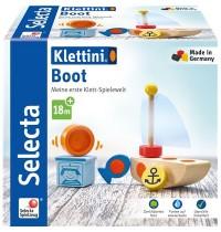 Schmidt Spiele - Selecta - Boot, Klett-Stapelspielzeug, 6 Teile