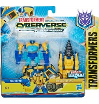 Hasbro - Transformers - Transformers Cyberverse Action Attackers Spark Armor Battle Figur