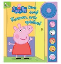PI Kids - Klingel-Soundbuch - Peppa Pig, Ding, dong! Komm, wir spielen!