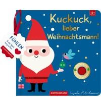 Mein Filz-Fühlbuch: Kuckuck, lieber Weihnachtsmann! (F.&b.)