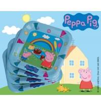 Peppa Pig Pappteller _  23cm 6 Stück