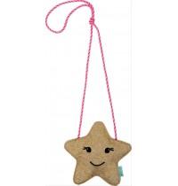 Glitzer-Täschchen Stern   Weihnachtsgeschenke für Kinder