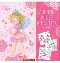 Ausmalbilder mit Glitzer Prinzessin Lillifee