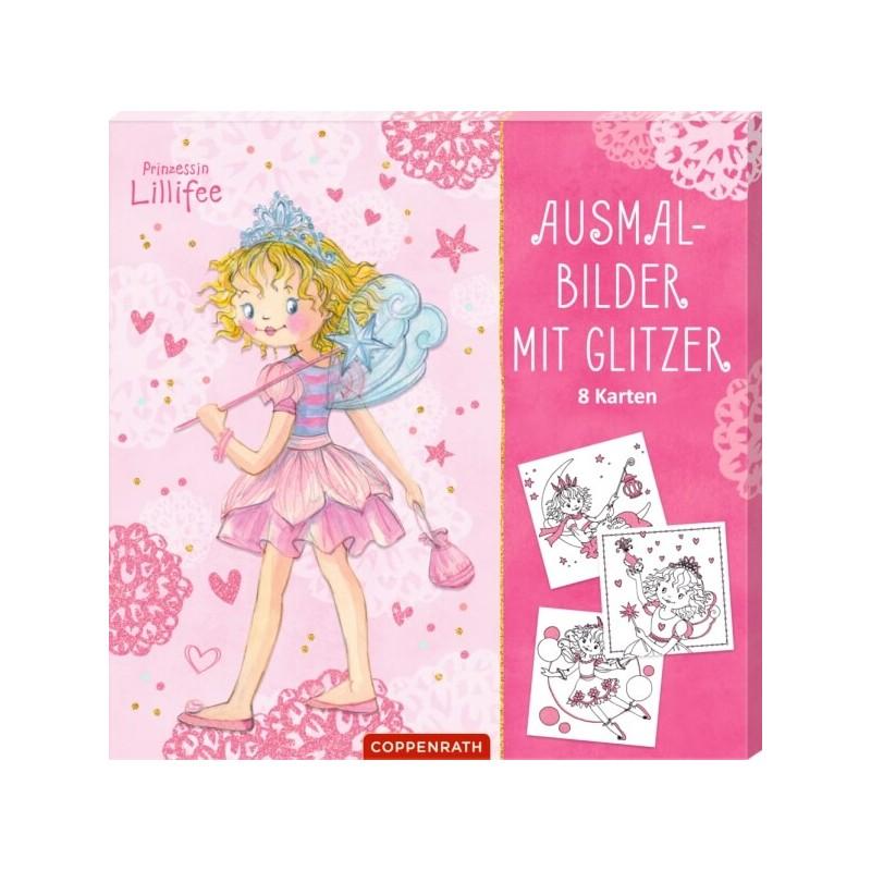 Coppenrath Prinzessin Lillifee Ausmalbilder Mit Glitzer Prinzessin Lillifee