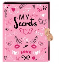 My Secrets - Tagebuch mit Schloss
