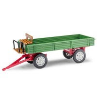 Anhänger T4 Sitzbank grün/rot
