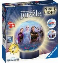 DFZ: Frozen 2 Nightlig 3D Puz