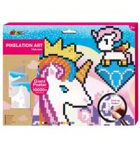 Pixelization Art Unicorn