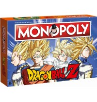 Winning Moves - Monopoly - Dragon Ball Z