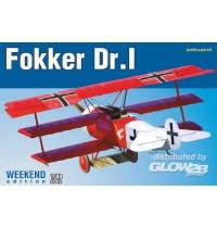 1/48 Fokker Dr.I Hersteller: Eduard Plastic Kits