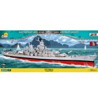 Cobi 2410 PCS WS IOWA 2410 PCS SMALL ARMY /4812/ WS IOWA CLASS USS MIS