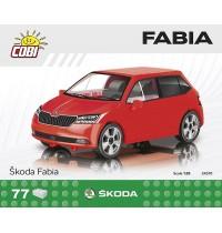 Cobi SKODA FABIA 75 PCS CARS /24570/ SKODA FABIA