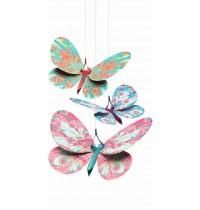 Djeco - Lightweight - Glitter butterflies