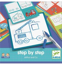 Djeco - Eduludo: Step by step - Arthur and Co