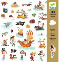 Djeco - Sticker: Pirates