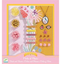Djeco - Ooh, Beads! - Pearls and flowers
