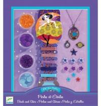 Djeco - Ooh, Beads! - Pearls and stars