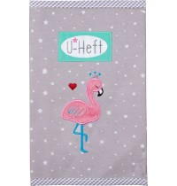 U-Heft Hülle Flamingo BabyGlü