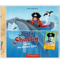 Coppenrath - CD Hörspiel - Käptn Sharky rettet den kleinen Wal