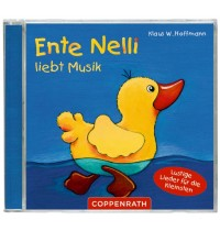 Coppenrath - CD Hörspiel - Ente Nelli liebt Musik - Lustige Lieder für die Kleinsten