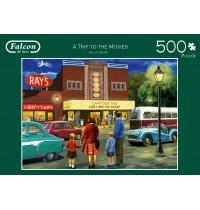 Jumbo Spiele - A Trip to the Movies - 500 Teile