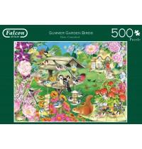 Jumbo Spiele - Summer Garden Birds - 500 Teile