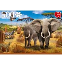 Jumbo Spiele - Afrikanische Savanne - 500 Teile
