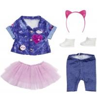 Zapf Creation - BABY born Deluxe Jeans Kleid Set 43 cm
