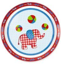 Melamin-Teller Elefant BabyGlück
