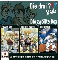 Europa - CD Die drei ??? Kids CD-Box, Folgen 34 - 36