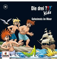 Europa - CD Die drei ??? Kids Geheimnis im Meer, Folge 66