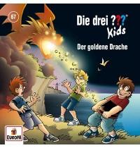Europa - CD Die drei ??? Kids Der goldene Drache, Folge 67
