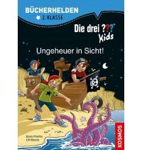KOSMOS - Bücherhelden - Die drei ??? Kids - Ungeheuer in Sicht!, 2. Klasse
