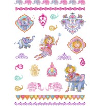 Metallic Tattoos  Prinzessin Lillifee Or