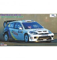 1/24 Ford Focus RS WRC 03, 20 Hasegawa