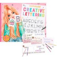 TOPModel Creative Lettering