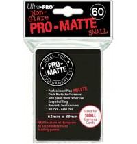 UltraPRO - Black Pro-Matte Sleeves small, 60