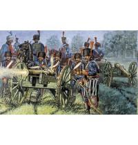 Italeri - 1:72 Französische Garde-artillerie