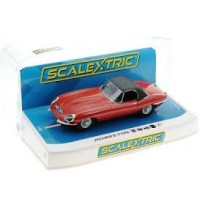 1:32 Jaguar E-Type Red 848CRY scalextric