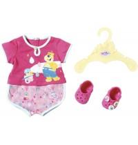 Zapf Creation - Baby born Bath Pyjamas und Clogs 43cm