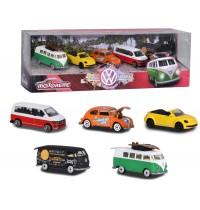 Majorette - Travel Volkswagen 5 Pieces Giftpack