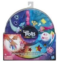 Hasbro - DreamWorks Trolls Tiny Dancers Greatest Hits, 6 Sammelfiguren, Halskette, 2 Armbänder und
