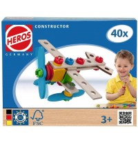HEROS - Constructor - Flugzeug, 40tlg.