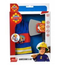 Simba - Feuerwehrmann Sam -  Feuerwehr Handschuhe und Axt