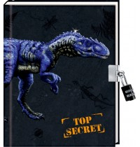 Tagebuch T-REX World - Top Secret m. Zah
