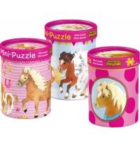 Mini-Puzzles  Mein kleiner Ponyhof (20 T